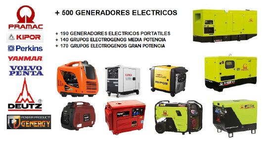 Generadores electricos bravo s l - Precio de generadores ...
